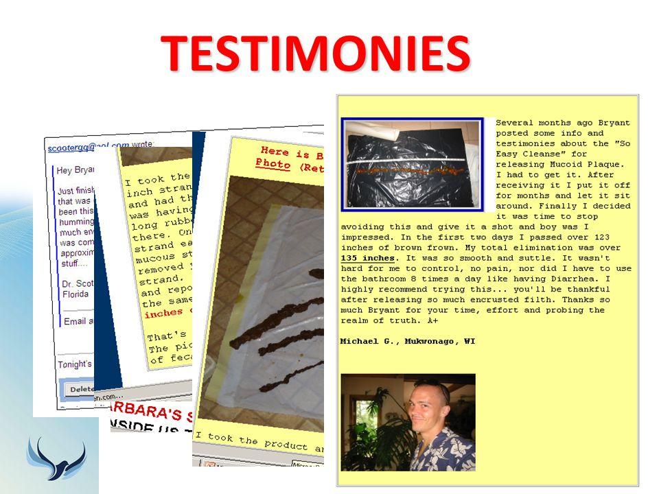 TESTIMONIES 22