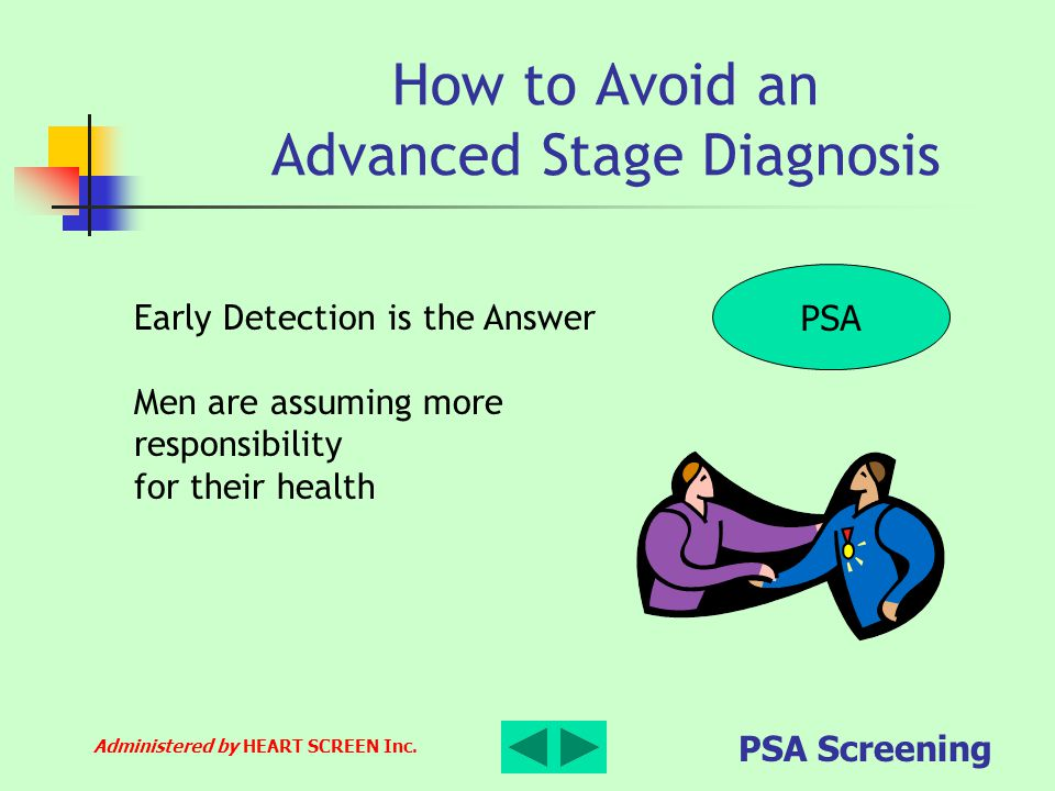 How to Avoid an Advanced Stage Diagnosis
