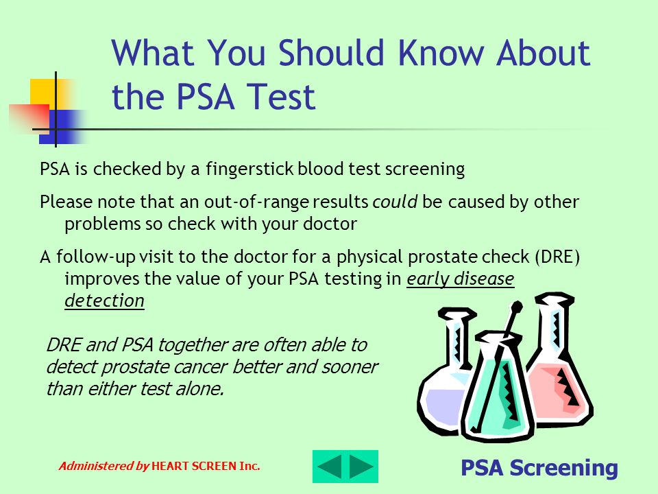 What You Should Know About the PSA Test