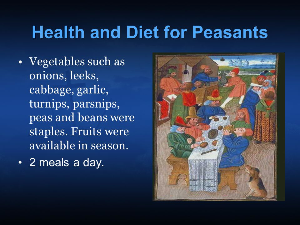Health and Diet for Peasants