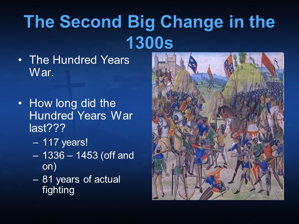 The Second Big Change in the 1300s