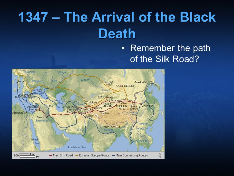1347 – The Arrival of the Black Death