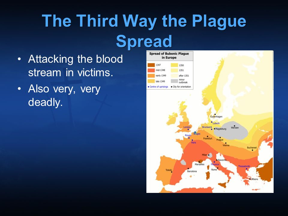The Third Way the Plague Spread
