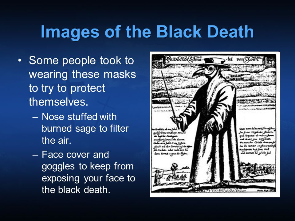 Images of the Black Death