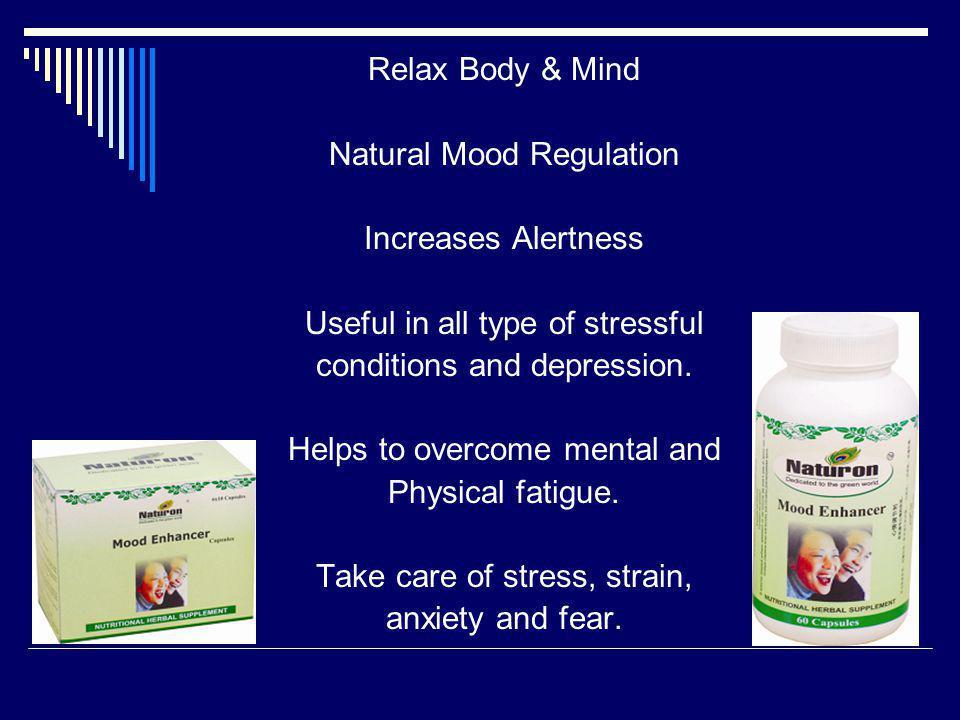 Natural Mood Regulation Increases Alertness