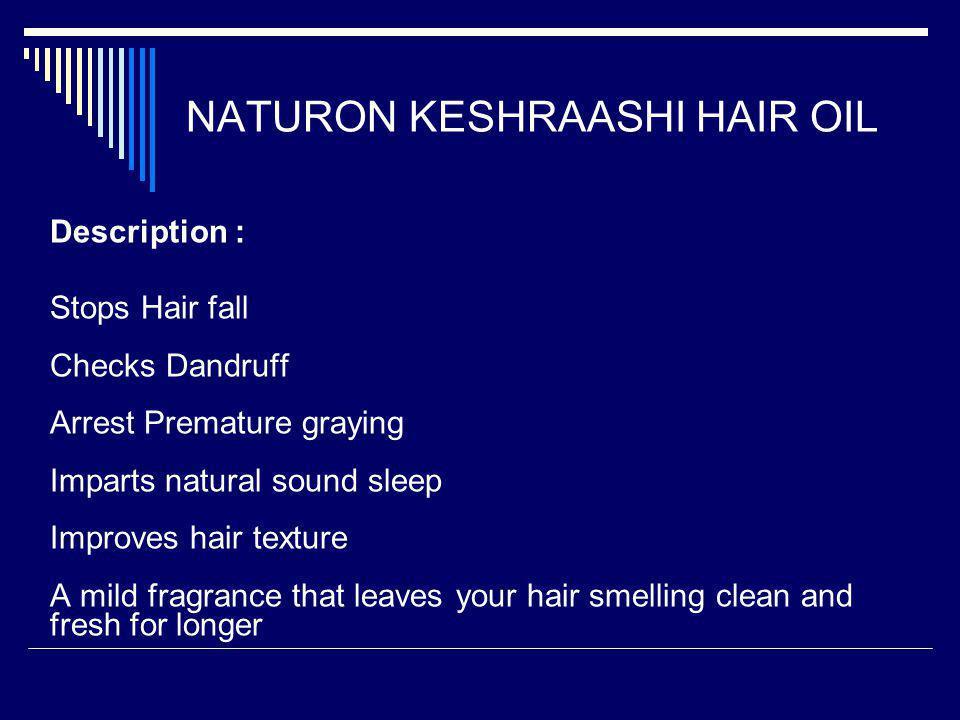 NATURON KESHRAASHI HAIR OIL