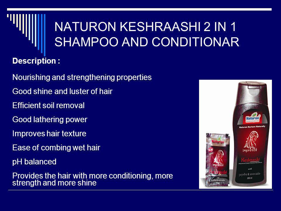 NATURON KESHRAASHI 2 IN 1 SHAMPOO AND CONDITIONAR