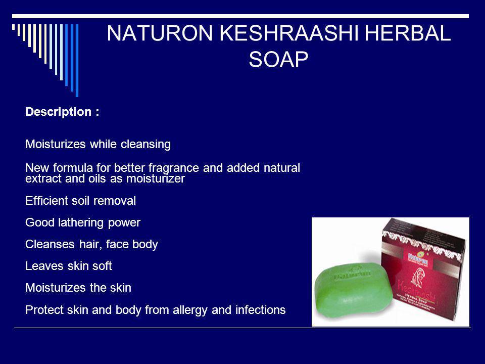NATURON KESHRAASHI HERBAL SOAP