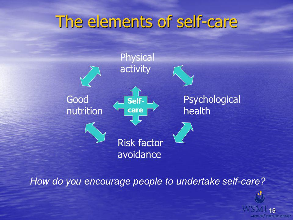 The elements of self-care