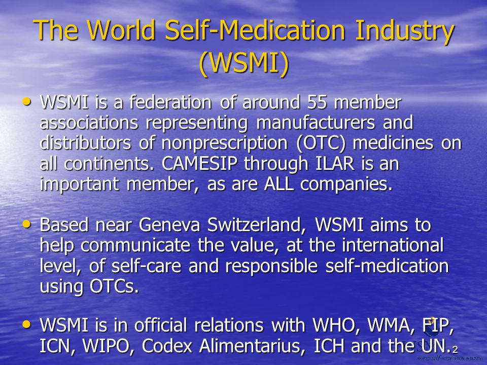 The World Self-Medication Industry (WSMI)