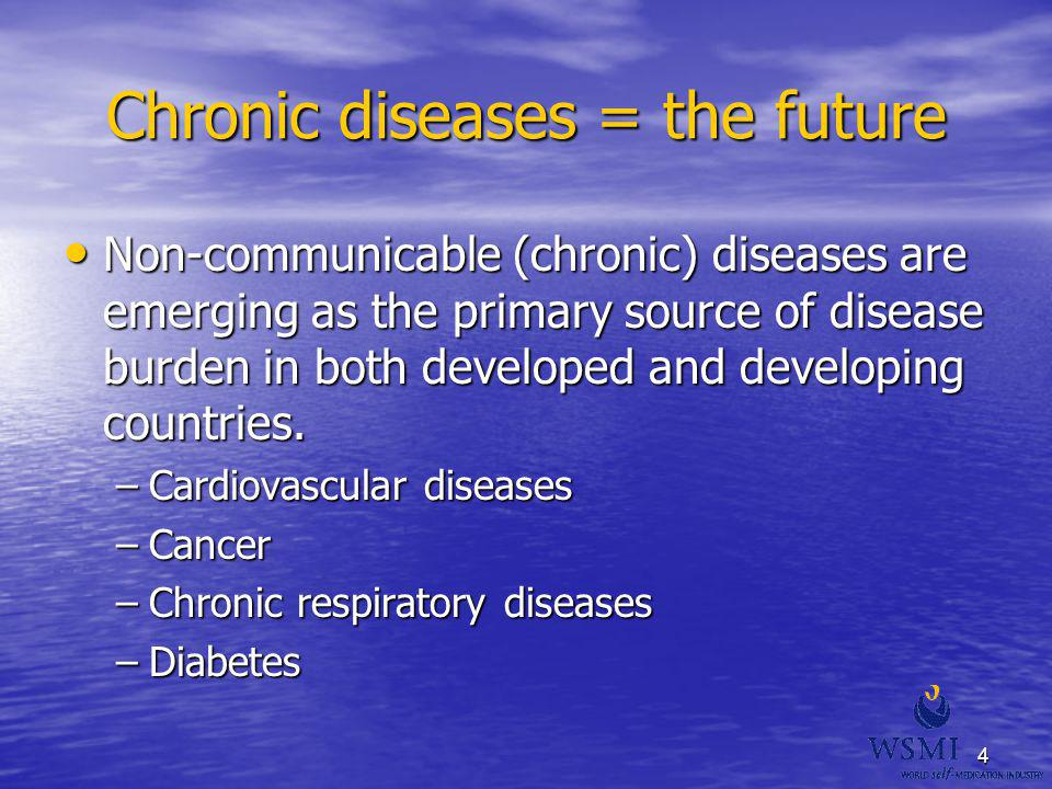 Chronic diseases = the future