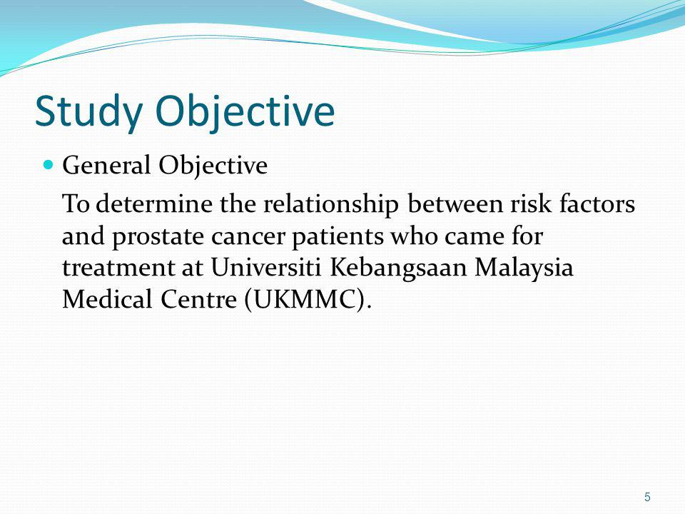 Study Objective General Objective