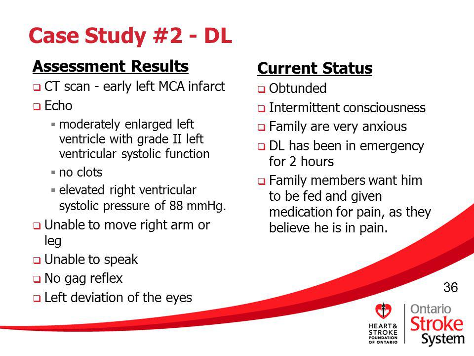 Case Study #2 - DL Assessment Results Current Status