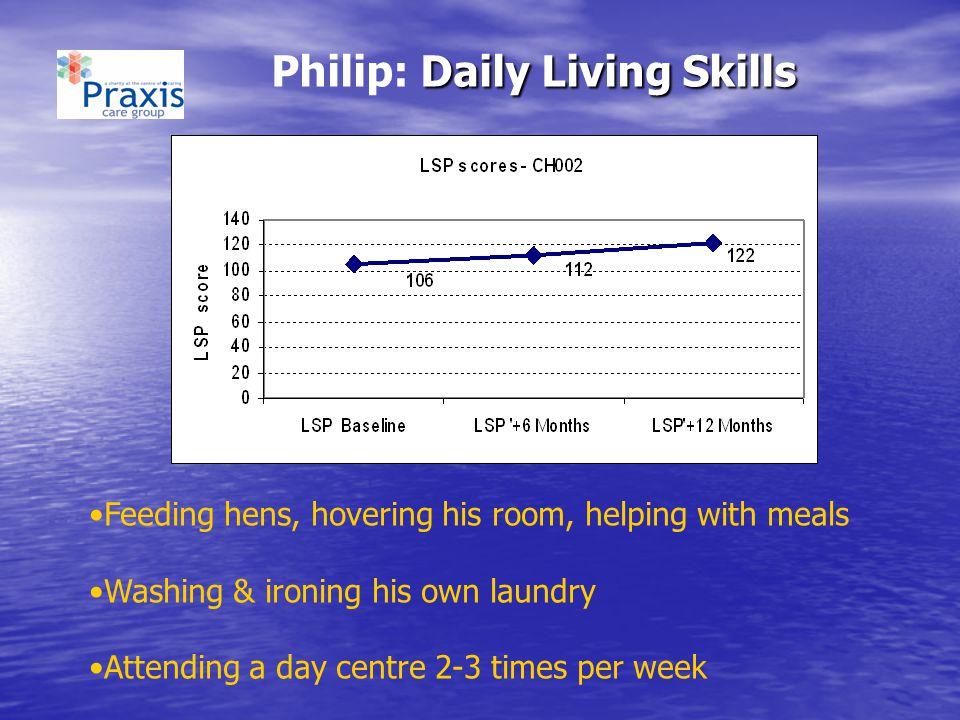 Philip: Daily Living Skills