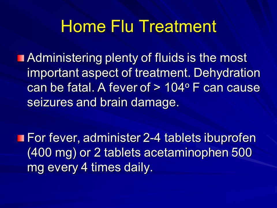 Home Flu Treatment