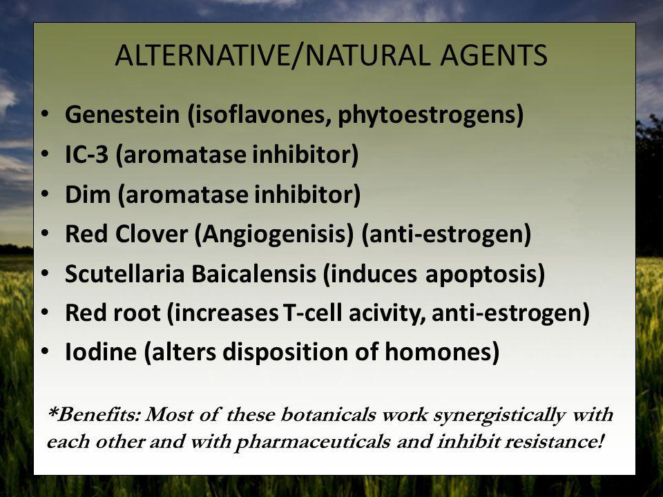 ALTERNATIVE/NATURAL AGENTS