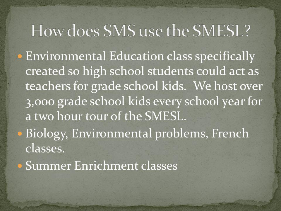 How does SMS use the SMESL