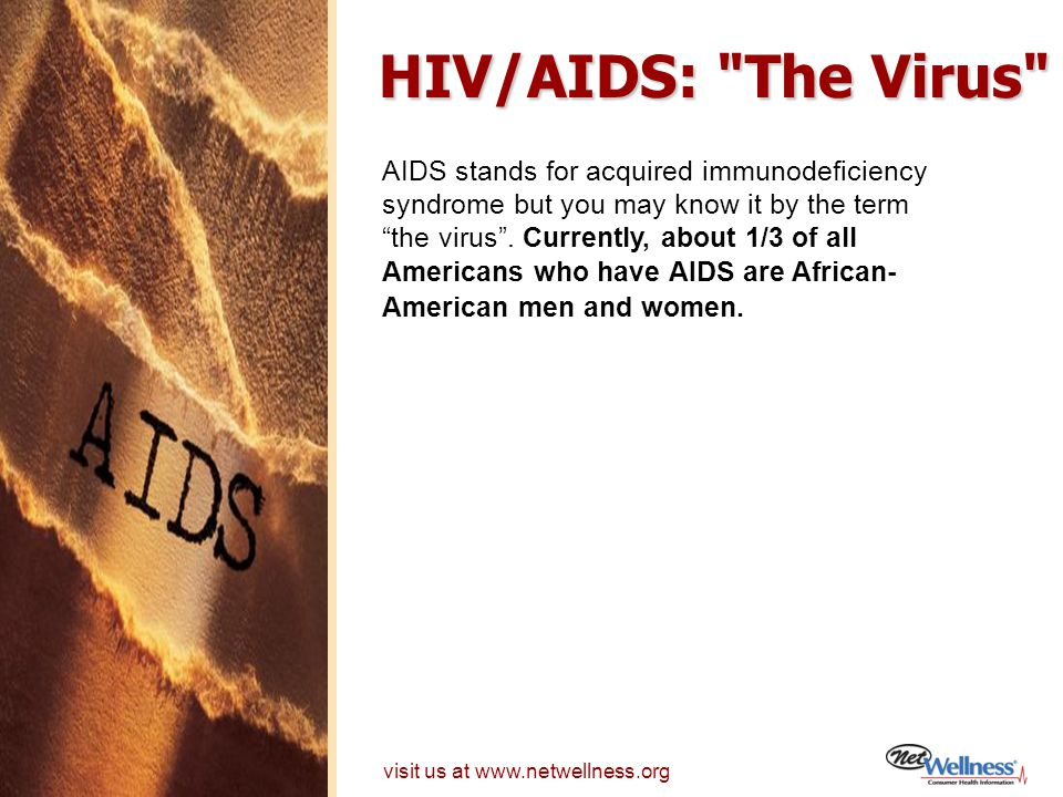 HIV/AIDS: The Virus