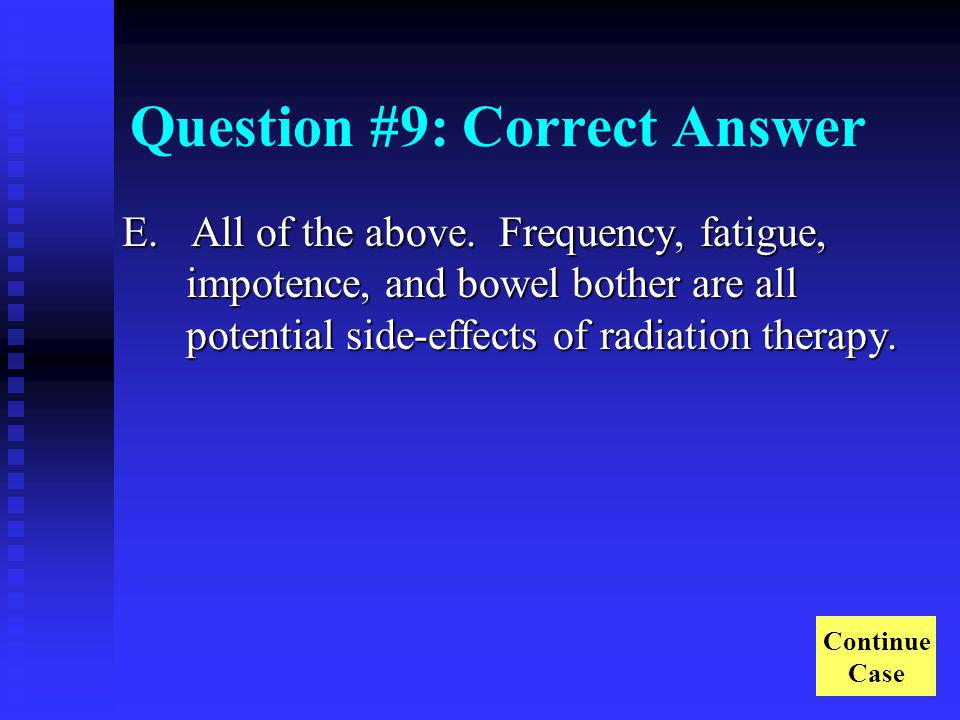 Question #9: Correct Answer
