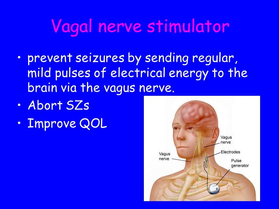 Vagal nerve stimulator