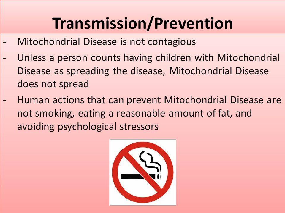 Transmission/Prevention