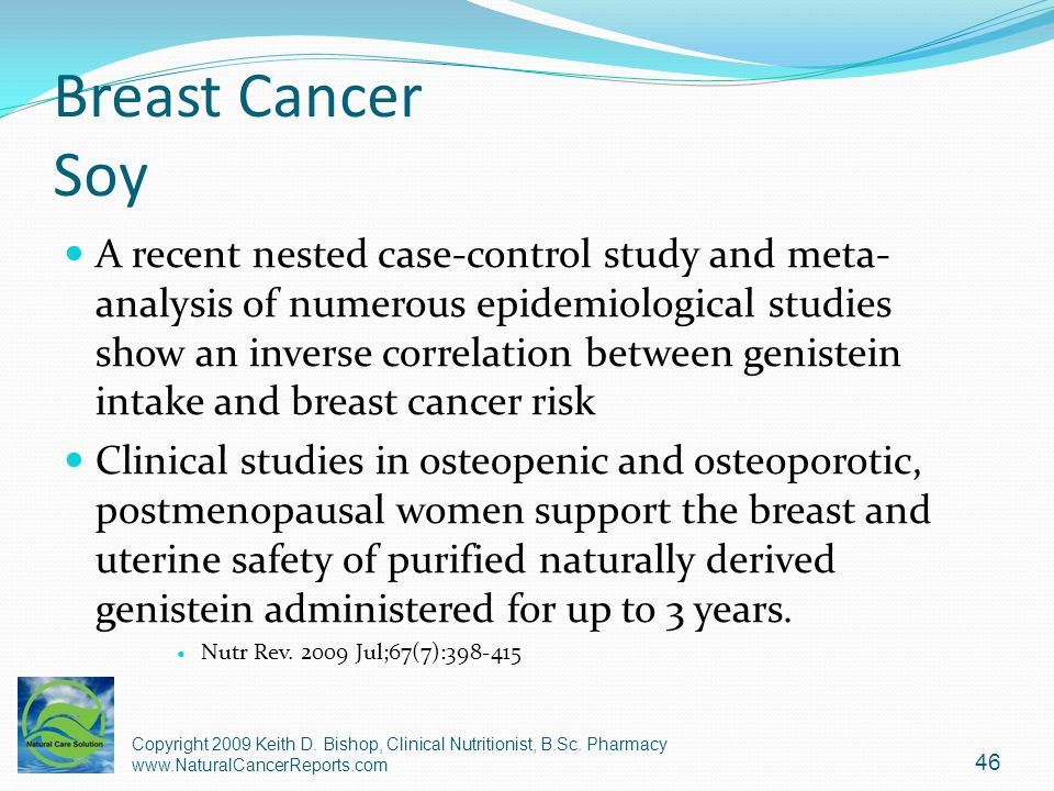 Breast Cancer Soy