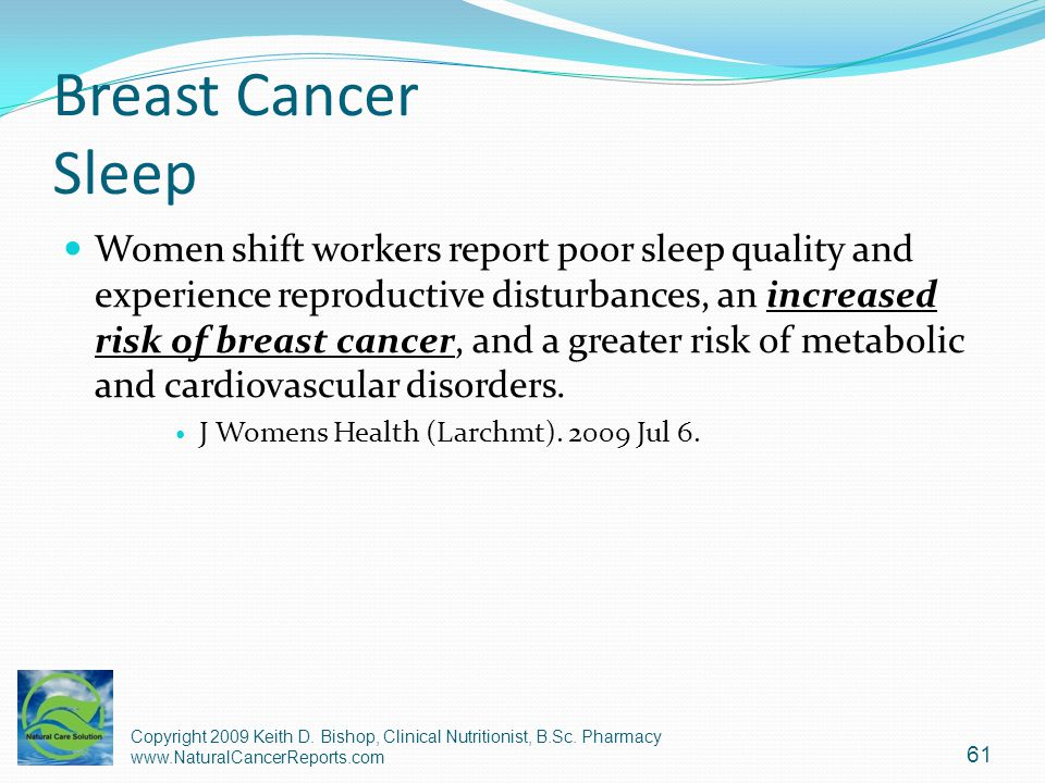 Breast Cancer Sleep