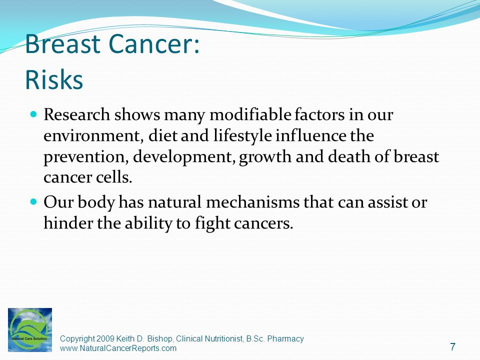 Breast Cancer: Risks