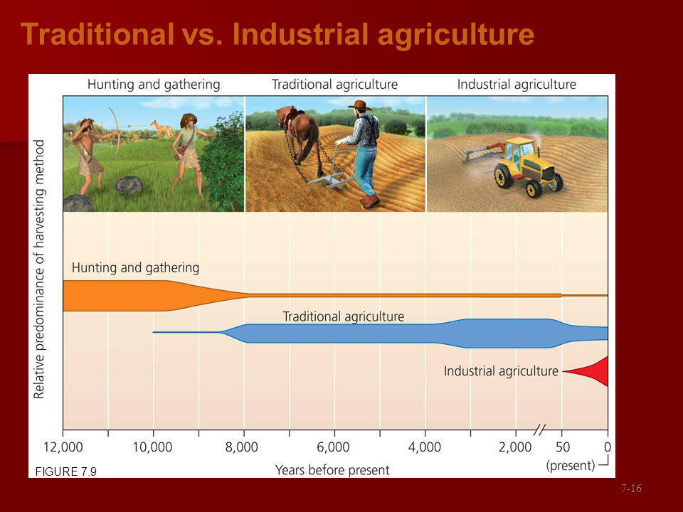 Traditional vs. Industrial agriculture