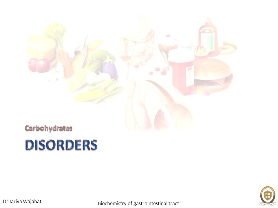 Carbohydrates Disorders