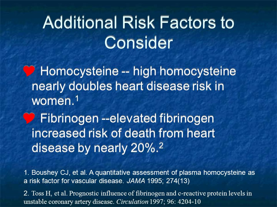 Additional Risk Factors to Consider