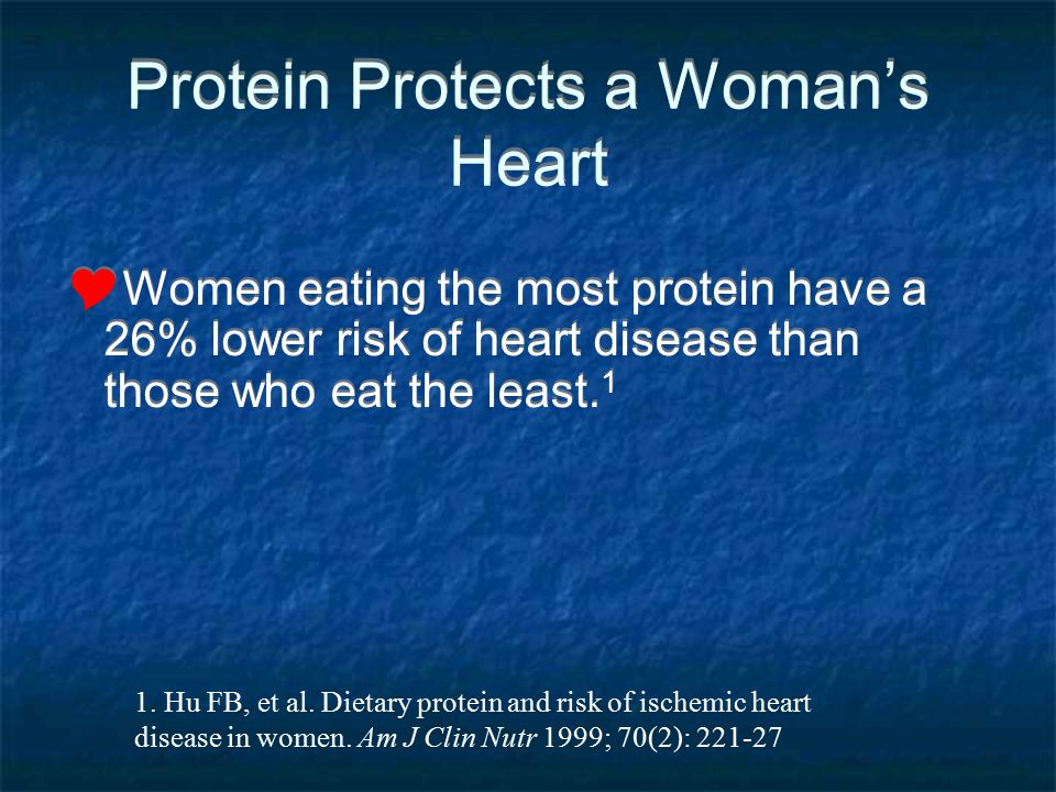 Protein Protects a Woman's Heart