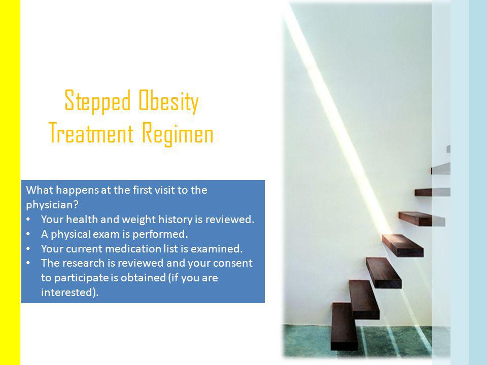 Stepped Obesity Treatment Regimen