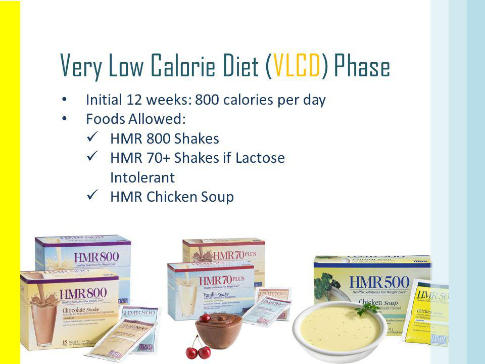 Very Low Calorie Diet (VLCD) Phase
