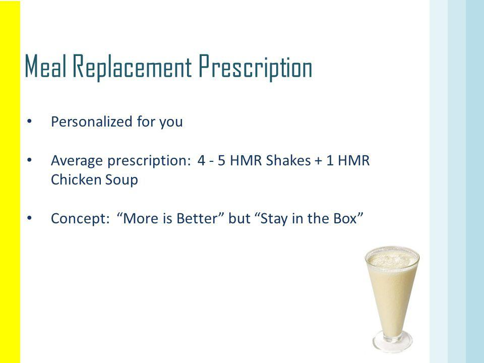 Meal Replacement Prescription