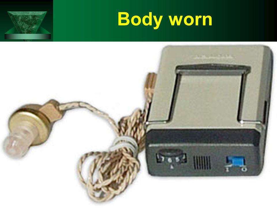 Body worn