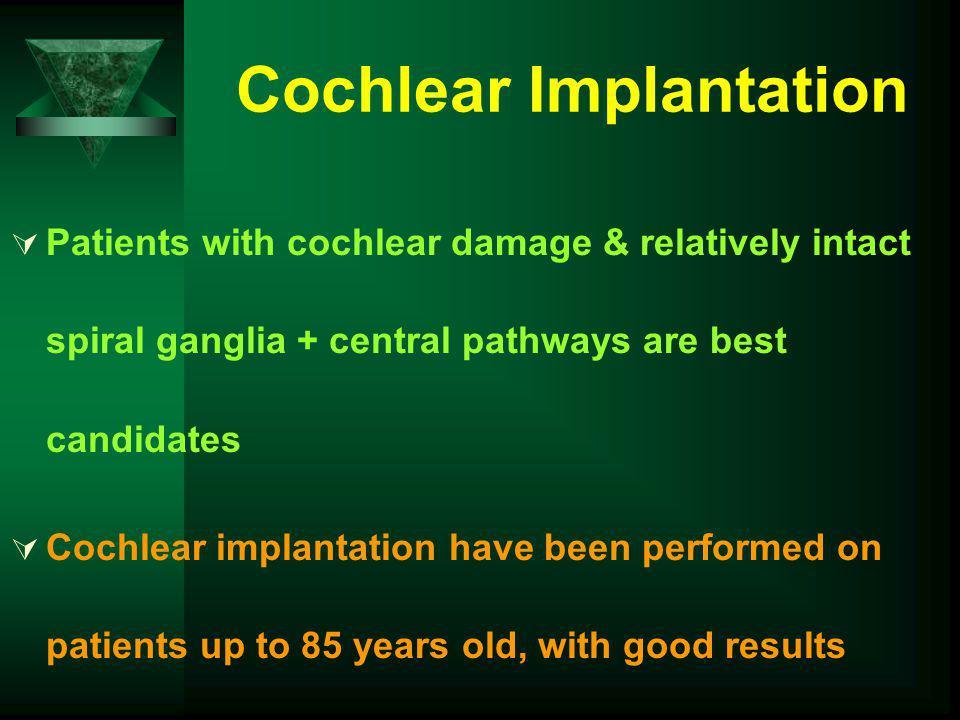 Cochlear Implantation