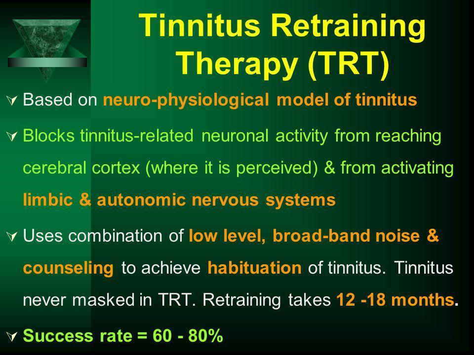 Tinnitus Retraining Therapy (TRT)