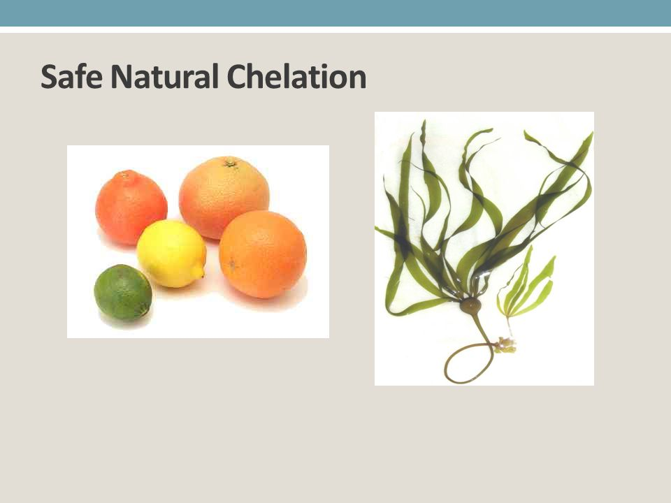 Safe Natural Chelation