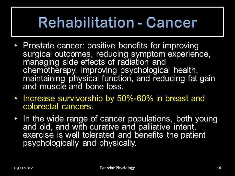 Rehabilitation - Cancer