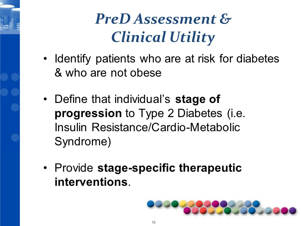 PreD Assessment & Clinical Utility