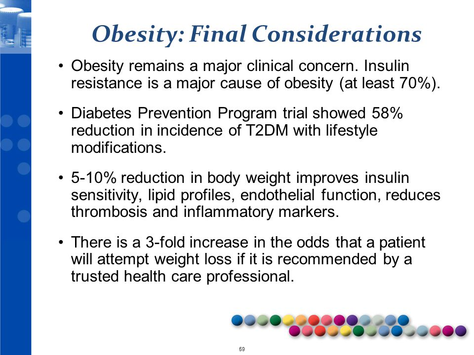 Obesity: Final Considerations