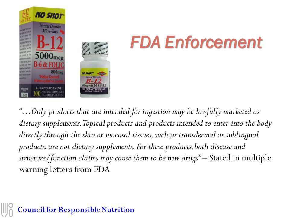 FDA Enforcement