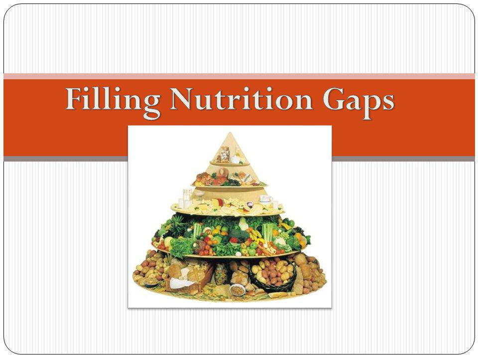 Filling Nutrition Gaps