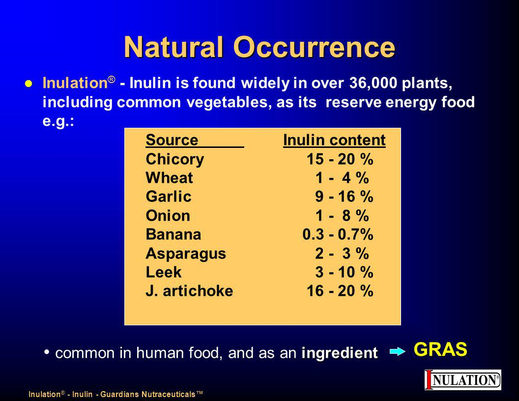 Inulation® - Inulin - Guardians Nutraceuticals™