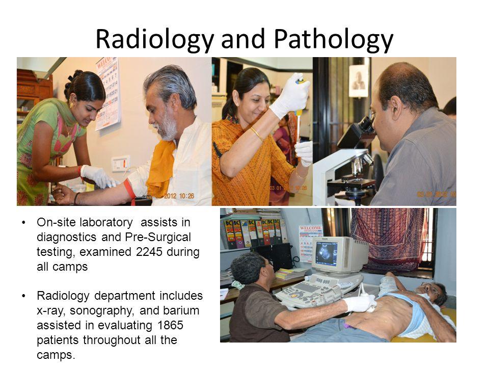 Radiology and Pathology