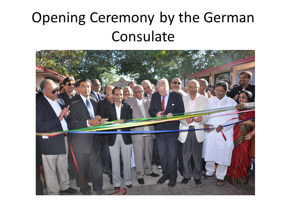 Opening Ceremony by the German Consulate