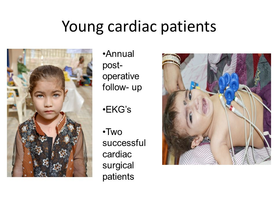 Young cardiac patients