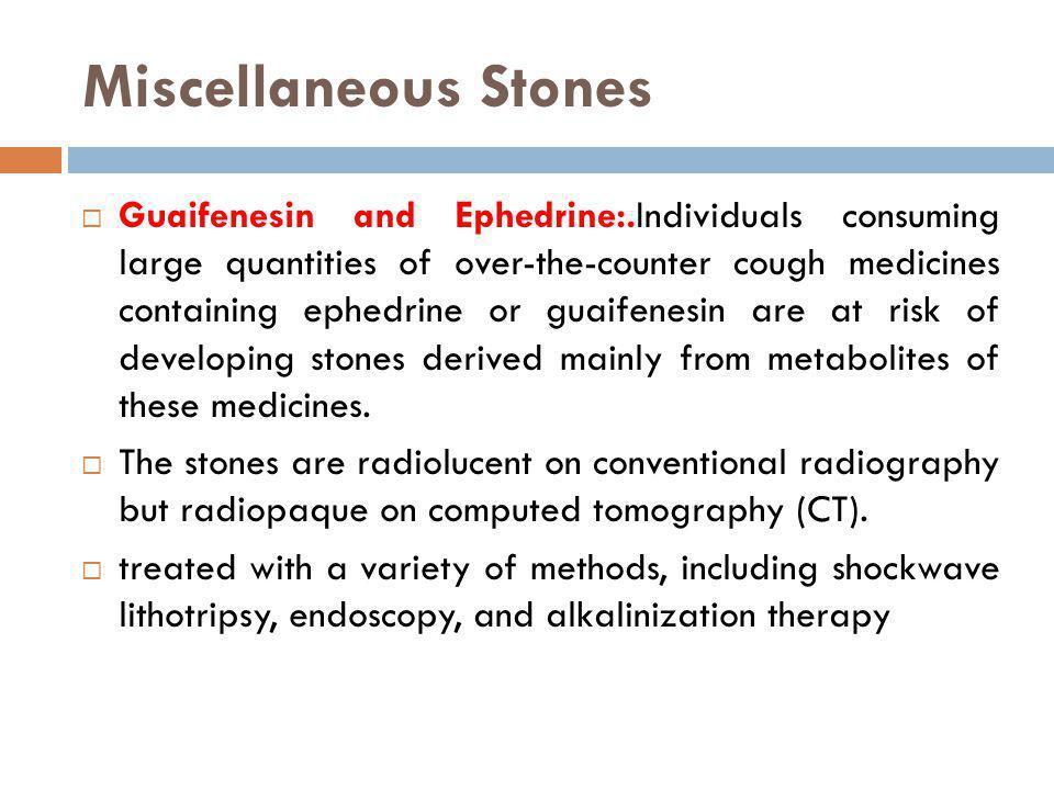 Miscellaneous Stones