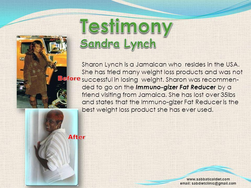 Testimony Sandra Lynch